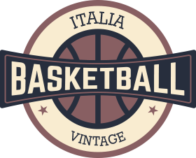 Italia Basket Vintage Logo